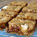 Almond Butter Blondies With Almond Paste Chunks