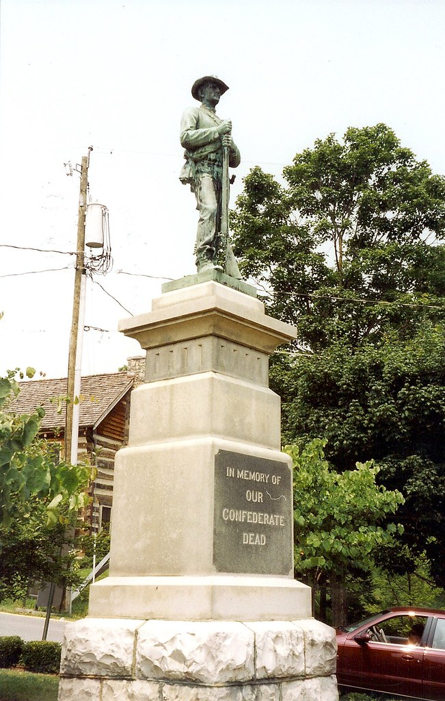 Lewisburg Wv Confederate Statue Despite The Historical