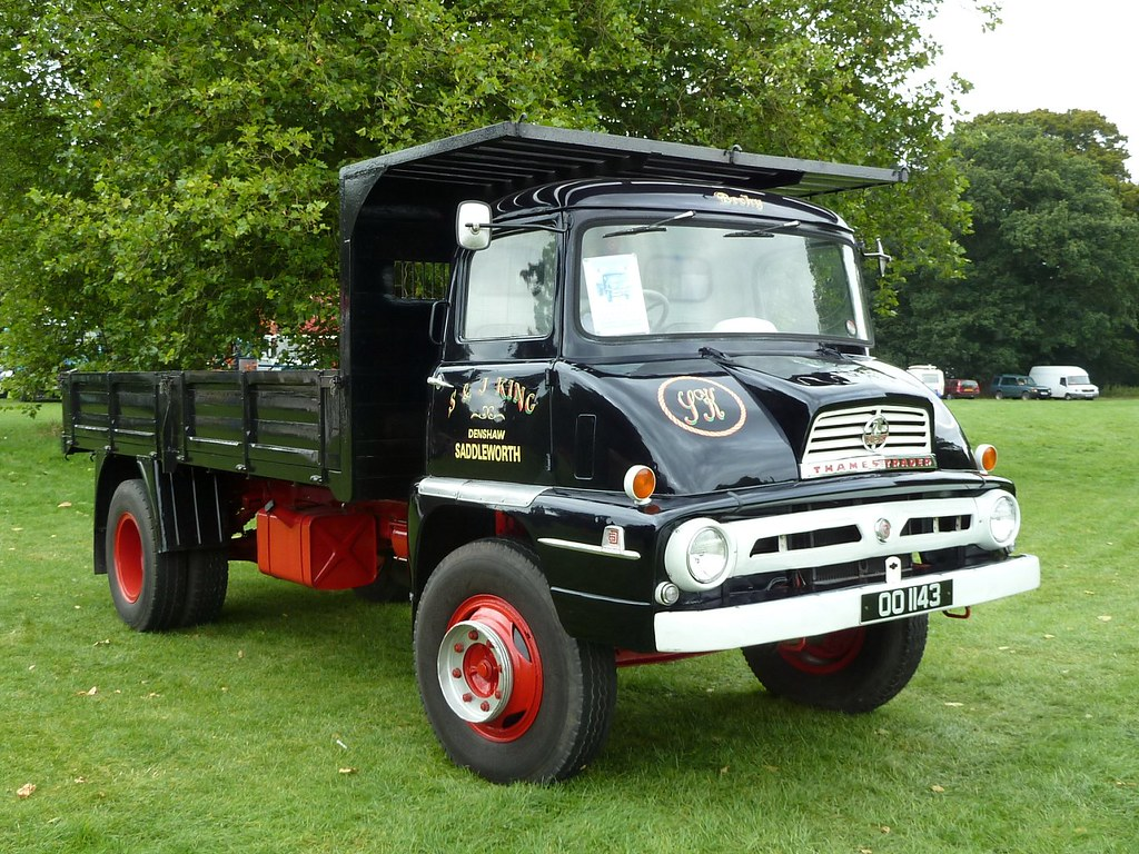 Oo 1143 1961 Ford Thames Trader 75 6d Tipper 6 Cyl