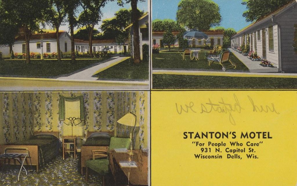 Stanton's Motel - Wisconsin Dells, Wisconsin