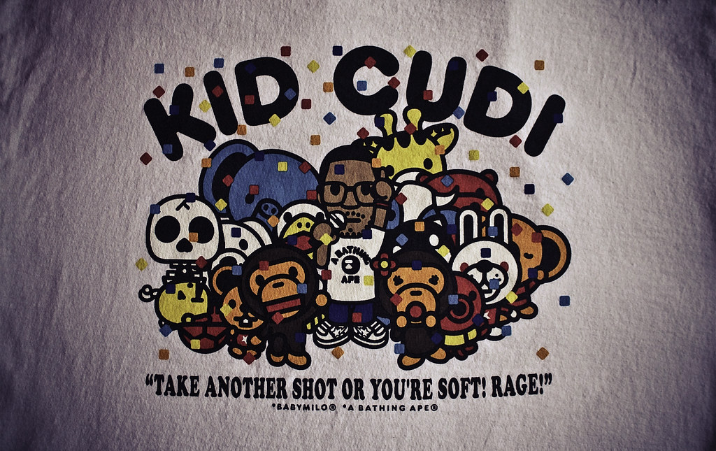 Bape Kid Cudi Wallpaper Party Tee made a picture from my s Flickr