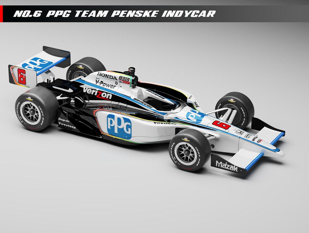 Team Penske Ppg No 6 Car Read More At Indycar Com News S Flickr