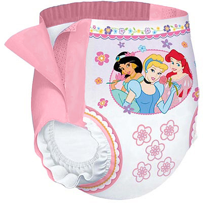 Disney Princess Huggies Pull-Ups | Decorated with Disney ...