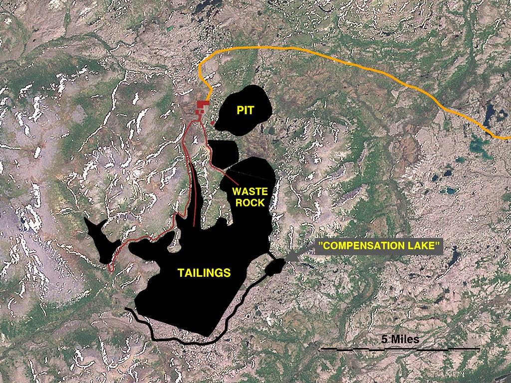 Development Plan Of The Proposed Pebble Mine Alaska Labe