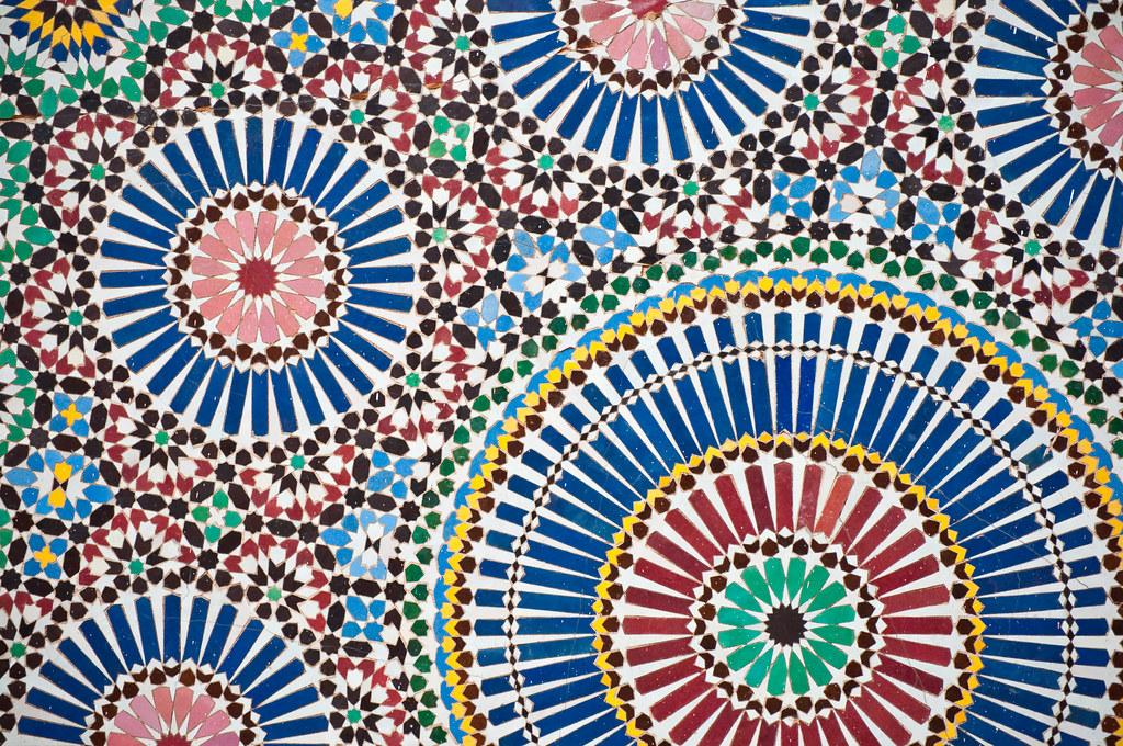 Islamic Mosaic Pattern I Just Love Islamic Mosaics