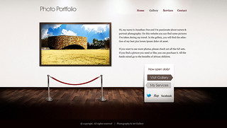 Art Gallery HTML/WP template - Homepage | by ThemeFuse
