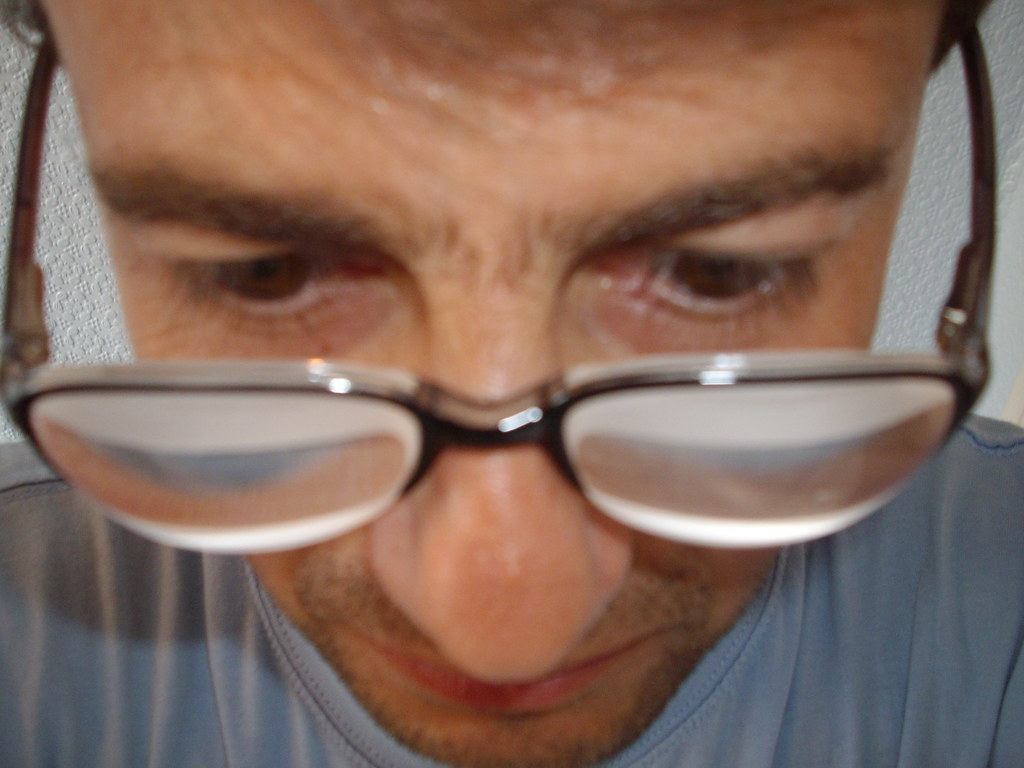 cb157e5eb1 Thick Lense Glasses. Home → Thick Lense Glasses. Observing me through thick  lenses by Lentilux on DeviantArt