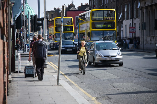 Dublin Cycle Chic - Yellow | by Mikael Colville-Andersen