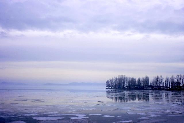 Der Balaton im Winter