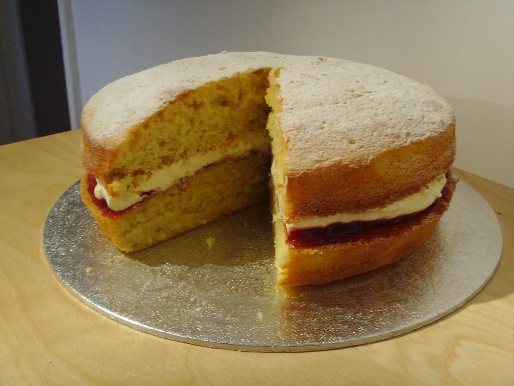 Sponge Cake Proportions
