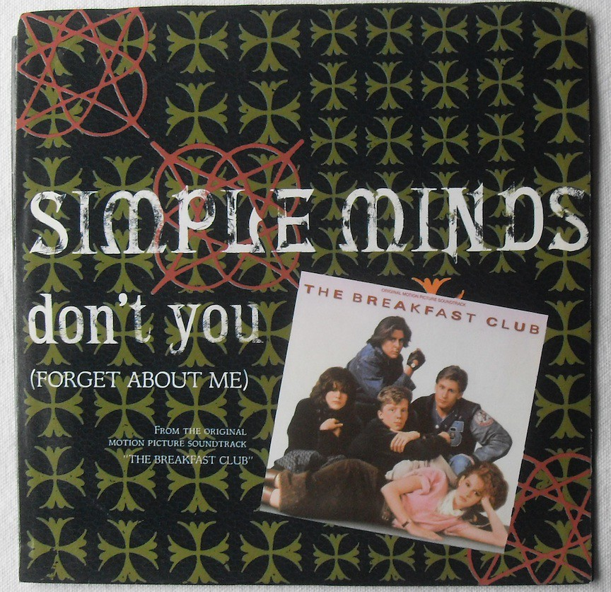 1984 SIMPLE MINDS Don't You Forget About Me THE BREAKFAST ...