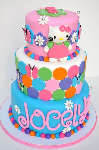colorful hk this is by far my favorite hello kitty cake. Black Bedroom Furniture Sets. Home Design Ideas
