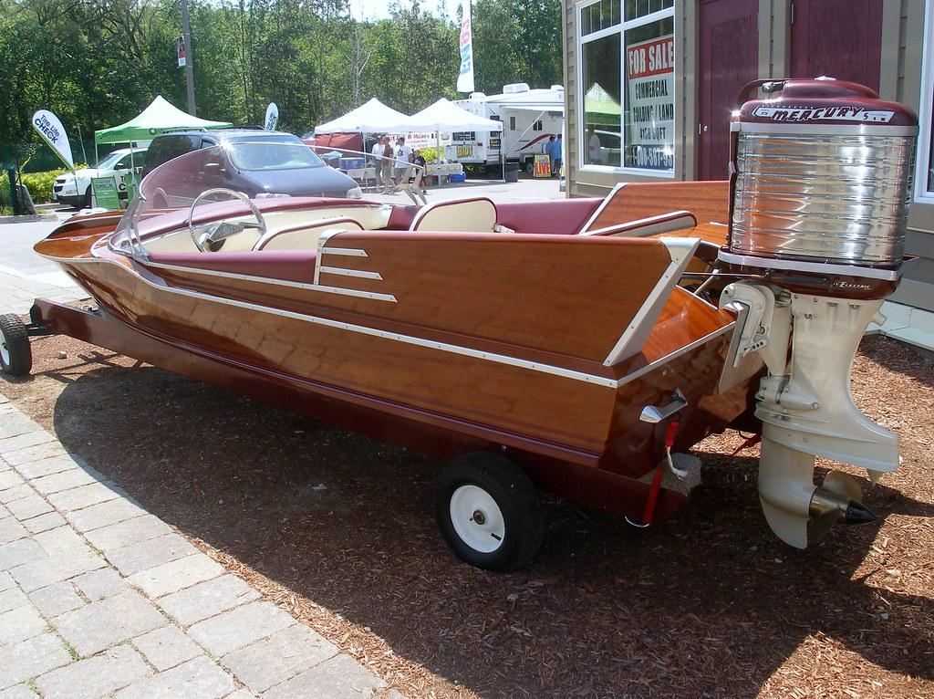 Vintage Mercury Outboard Motor Island Girl Talk Flickr