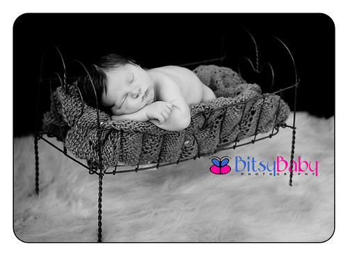 What a doll!  (antique doll bed circa 1800) | by Bitsy Baby Photography [Rita]