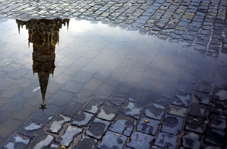 Red Square After Rain | by Leon Hart