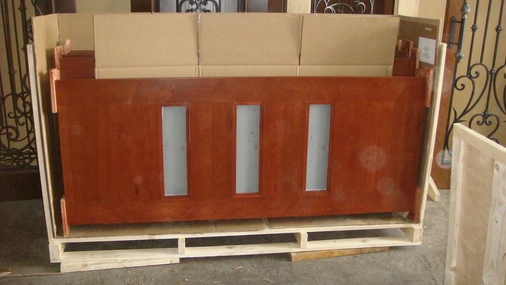 Mahogany Interior Doors Crated Ready To Ship Mahogany Inte Flickr