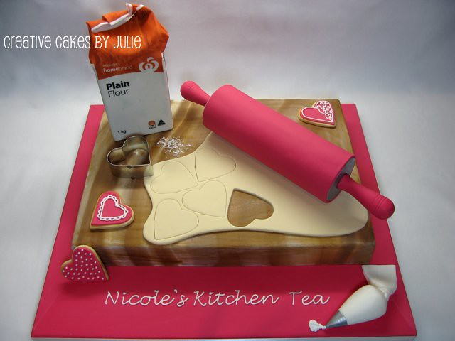 Kitchen Tea Cake There were 2 requirements for this cake ...