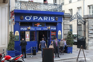 Irish Pub Paris Craft Beer Menu