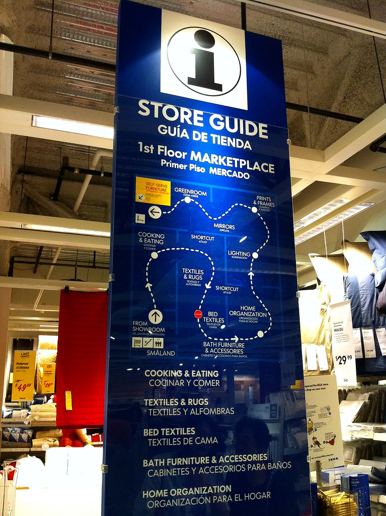 Ikea store guide east palo alto ca took by iphone 4 for Palo alto ikea