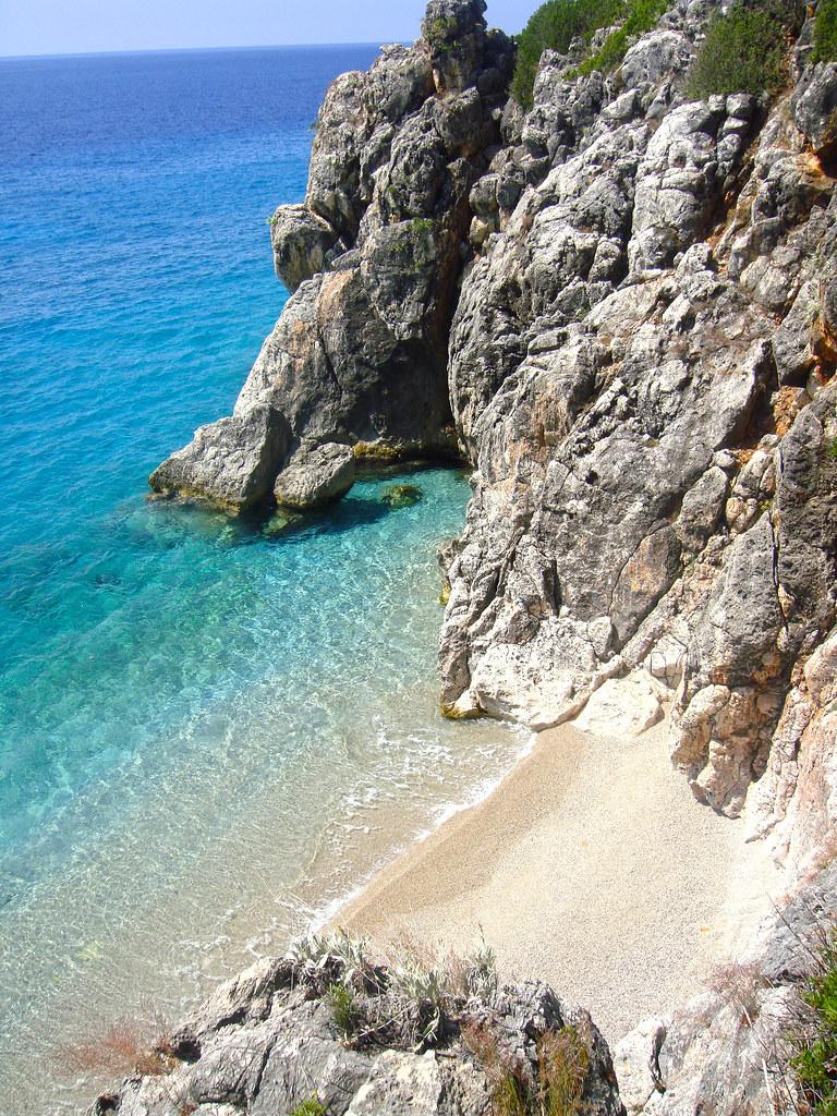 Albania Beach Small Beach South Albania