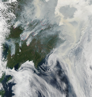 Fires in Eastern Siberia | by NASA Goddard Photo and Video