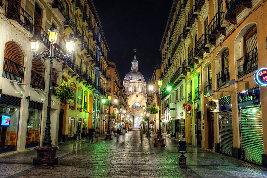 Zaragoza Spain  city photo : Street – Calle de Alfonso I, Zaragoza Spain , HDR | Flickr Photo ...