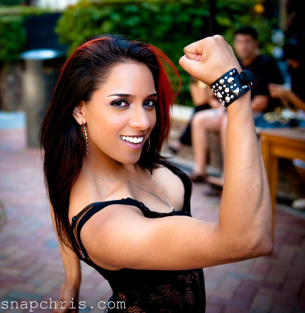 sexy pretty strong women