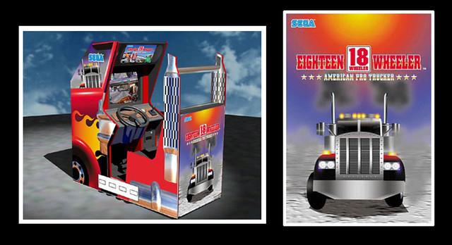 18 wheeler arcade machine