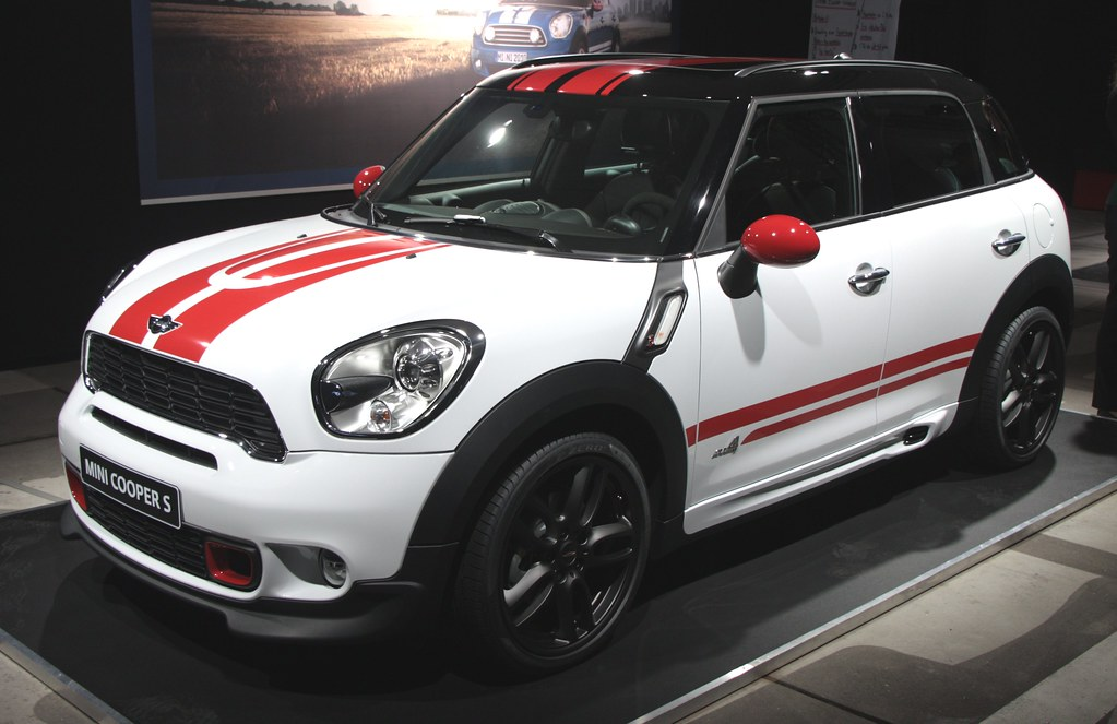 mini countryman with jcw exterior accessoires picture. Black Bedroom Furniture Sets. Home Design Ideas