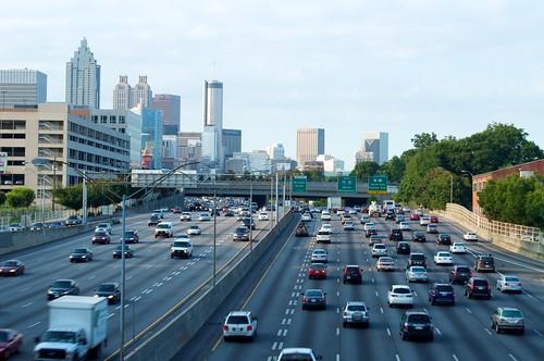 Downtown Atlanta Interstate 85 75 Brad Clinesmith Flickr