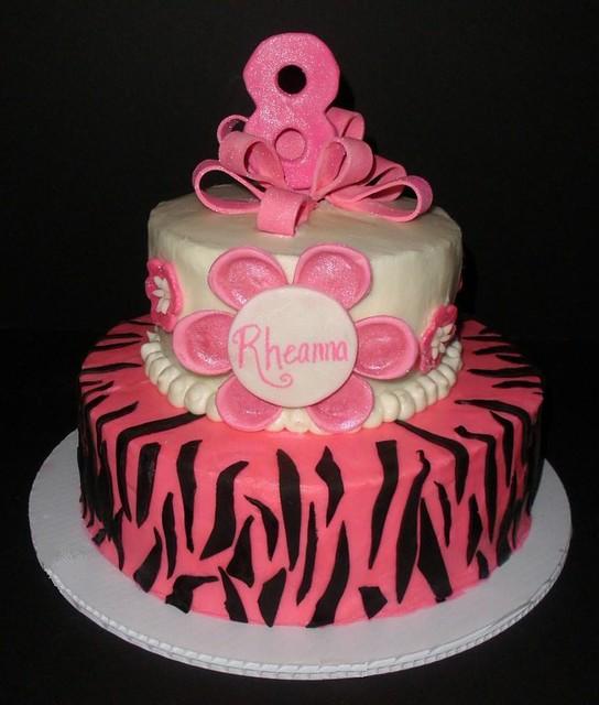 Rheanna S 8th Birthday Cake Flickr Photo Sharing