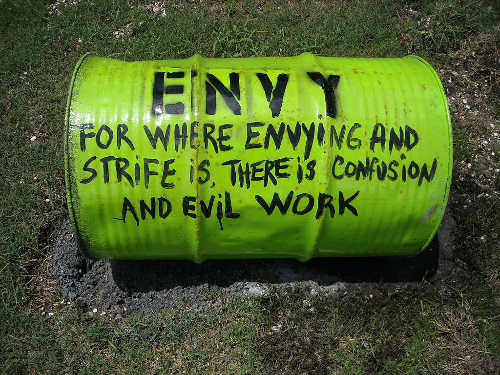 the sin of envy