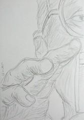 Joan Ramon in Pencil by r3nn3r