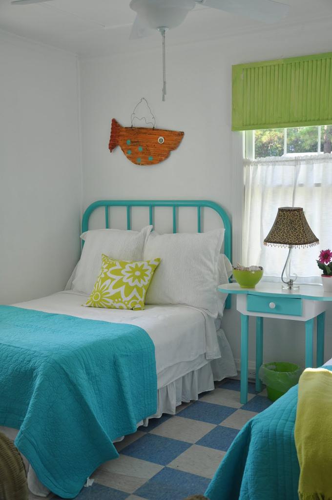 Dormitorio Turquesa Y Verde Pistacho From House Of Turquo