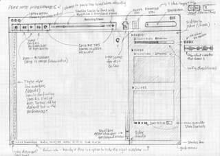Pear Note 2.0 Sketch Wireframe v1 | by Mike Rohde