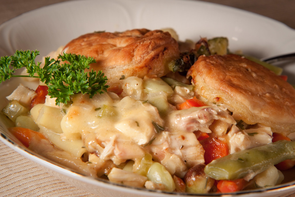 Alton Brown Curry Chicken Pot Pie - Aug 10 | From Alton ...
