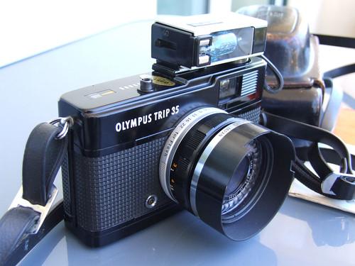 Photo Olympus Trip 35 Olympus Trip 35 Dscf2816