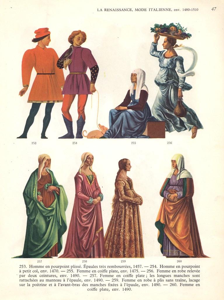 La Renaissance , Mode Italienne IV