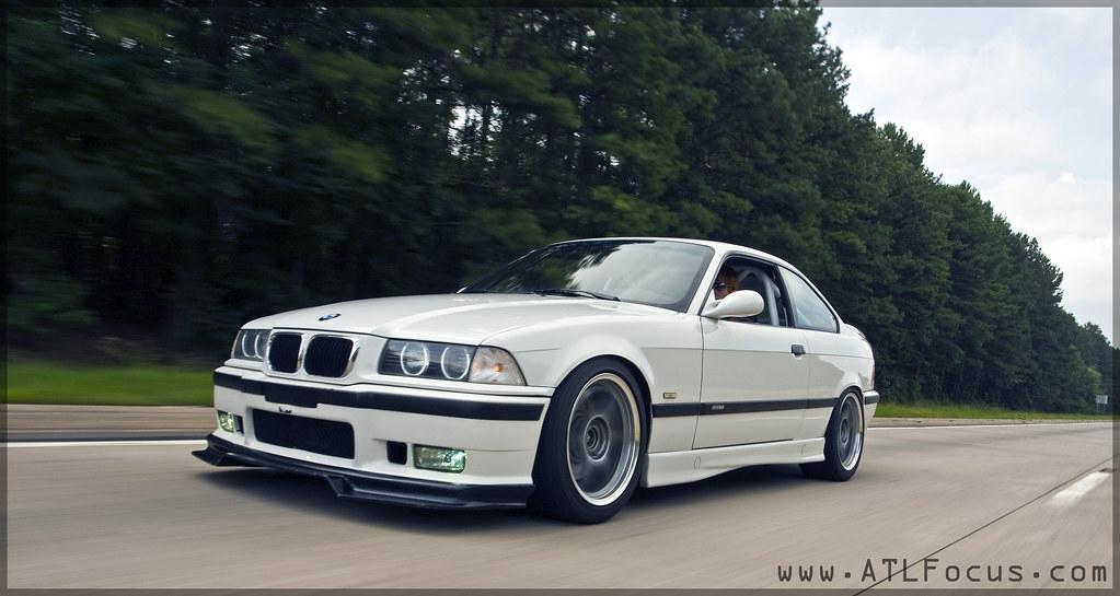 1999 BMW E36 M3 Alpine White Coupe Moton SSR Comp Racetech… | Flickr