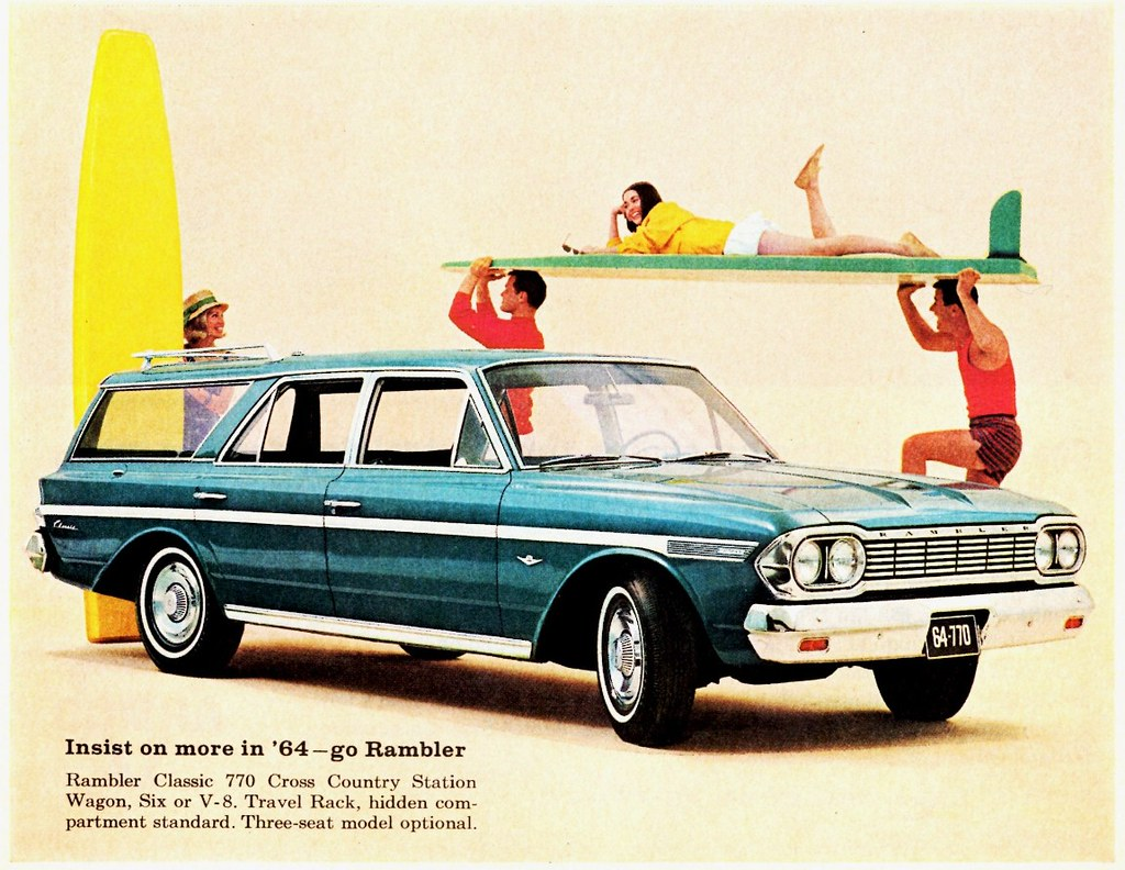 1964 rambler classic 770 cross country station wagon flickr. Black Bedroom Furniture Sets. Home Design Ideas