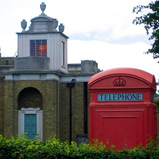 Dulwich Picture Gallery Mausoleum and K2 phone box | by tpholland