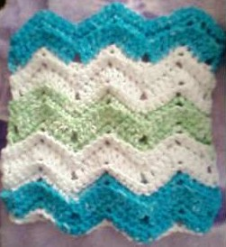 ripple_scrap_dishcloth_2 | by I'mHooked!