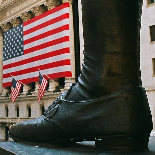 Washington Statue on Wall Street | by Mikael T