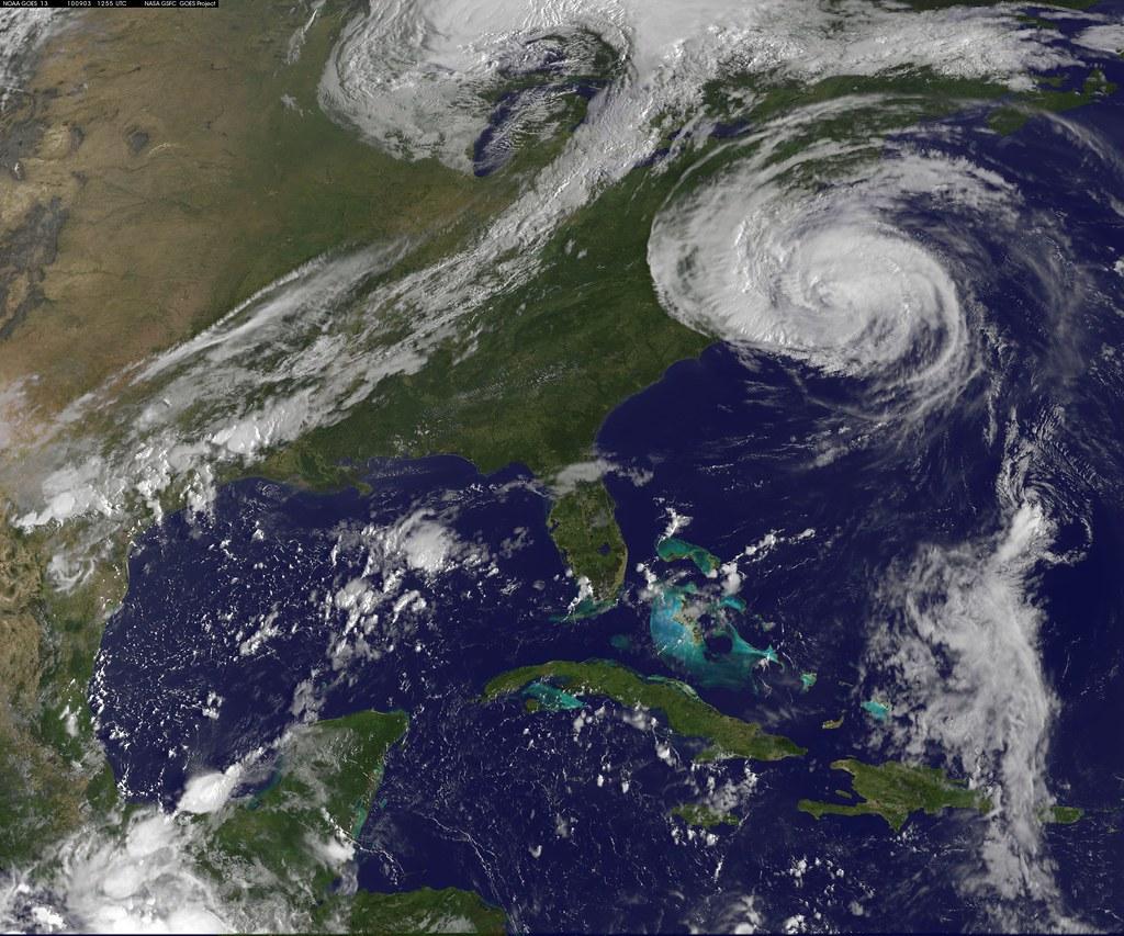 Nasa Satellite Captures Hurricane Earl On September 3 201