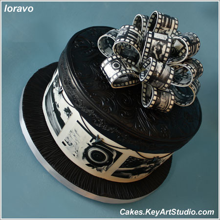 Original Cake Black White