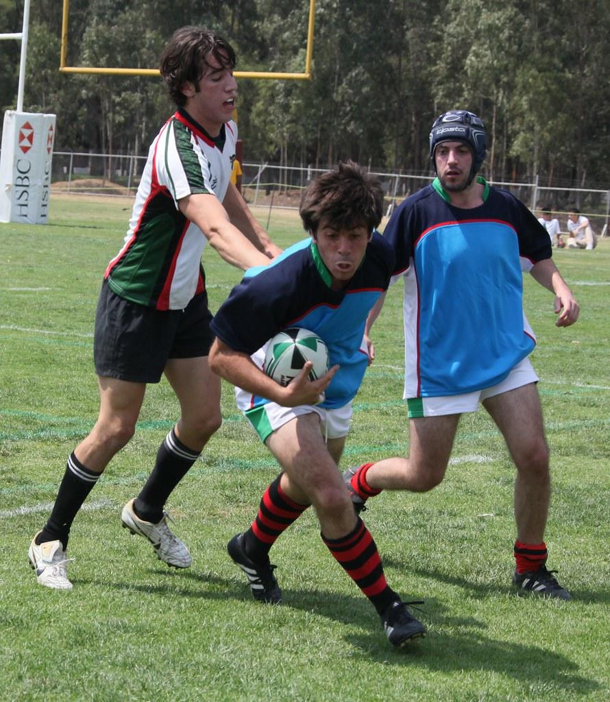 Rugby México B Vs Ex-patriados Campo Burros Blanco