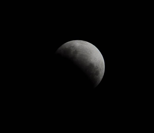 Partial lunar eclipse from Melbourne, 26th June 2010 | by Chris_Samuel