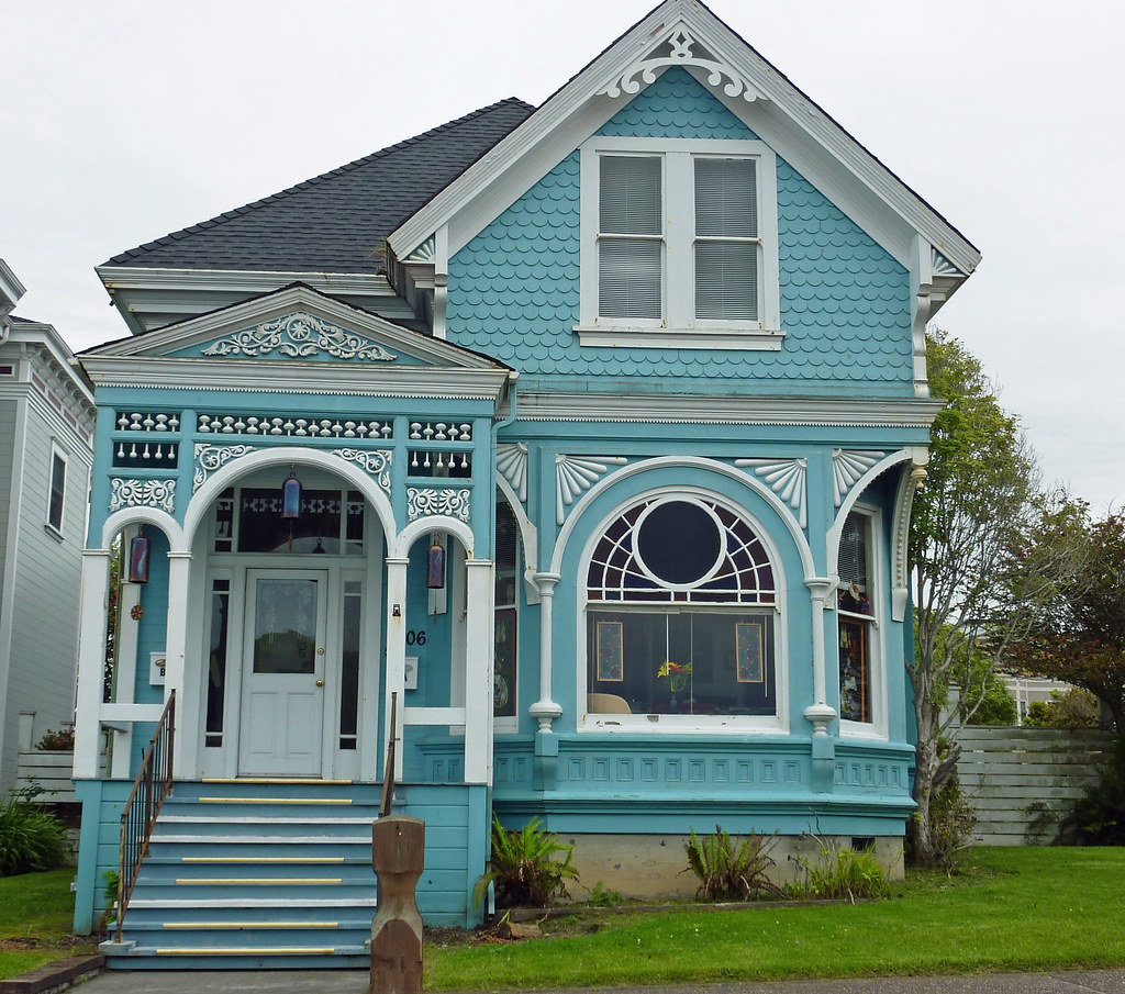 Old Victorian Houses In Eureka Ca Eureka Is A Fairly