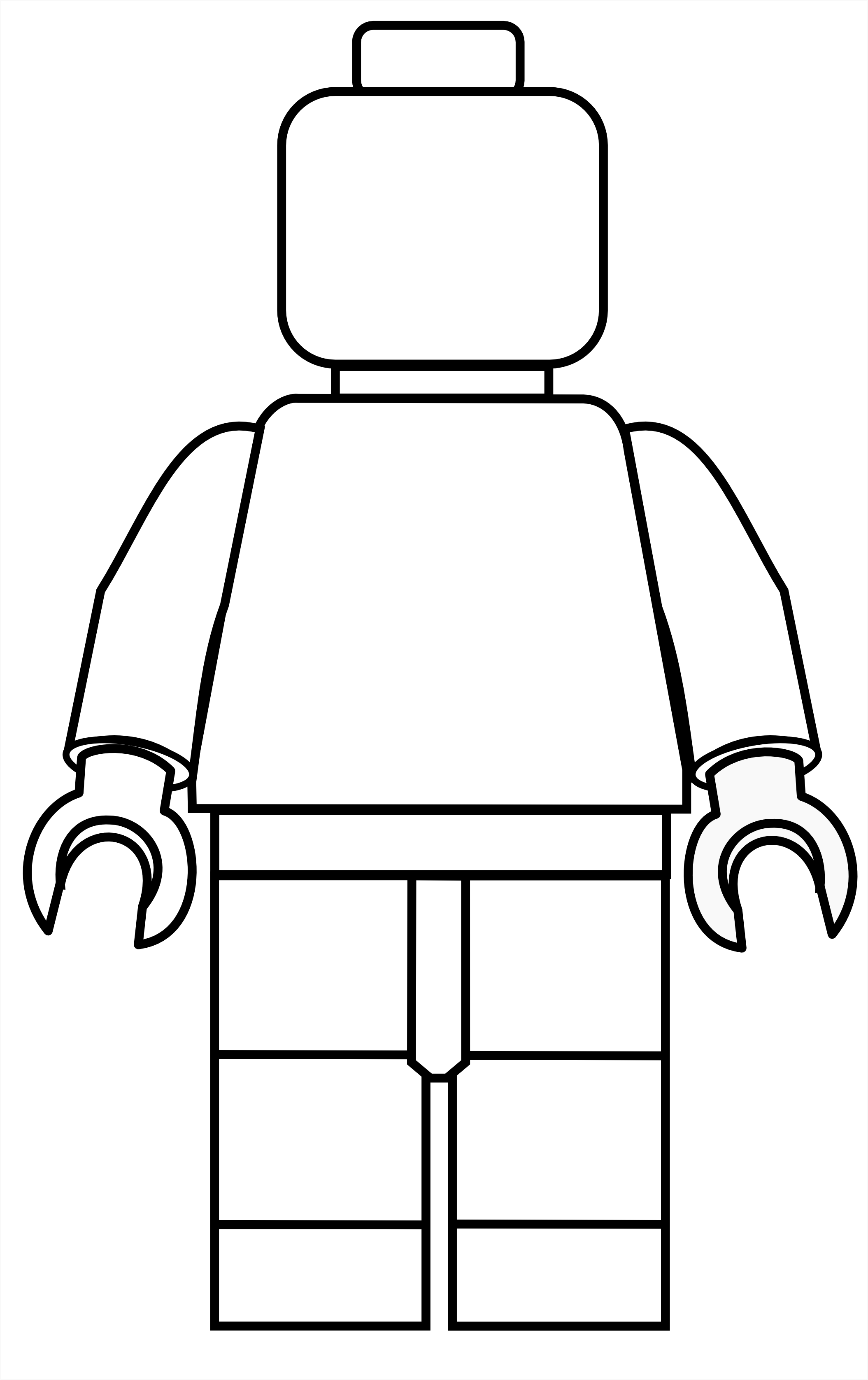 Coloring Pages Lego Figure Coloring Pages all sizes lego mini fig drawing template flickr photo sharing sizes