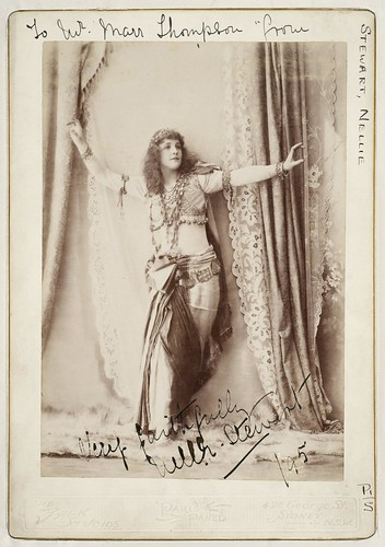 Nellie Stewart as Mam'zelle Nitouche, 1895 / The Falk Studios, Sydney | by State Library of New South Wales collection